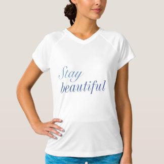 Stay Beautiful slogan shirt