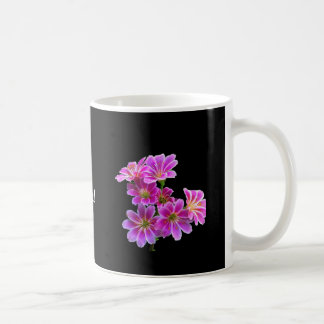 """""""Stay Brave"""" Motivational Floral Mug"""