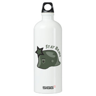 Stay Brave Water Bottle