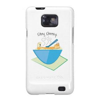 Stay Cheesy Galaxy SII Cover