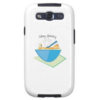 Stay Cheesy Galaxy SIII Cases