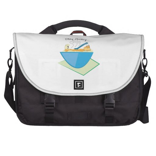 Stay Cheesy Laptop Commuter Bag