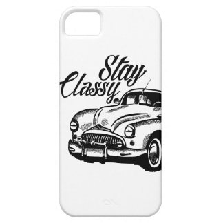 Stay Classy by KylaCher studio iPhone 5 Covers