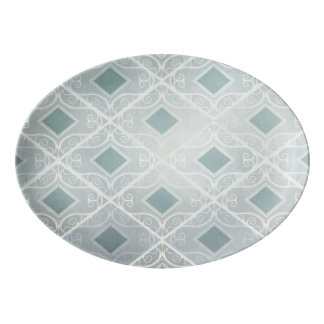 Stay Classy, Diamond Porcelain Serving Platter