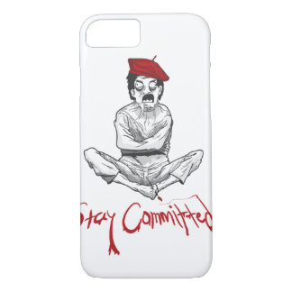 Stay Committed Painter iPhone 7 Case