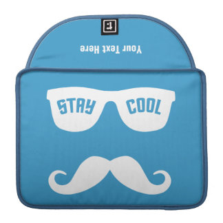 STAY COOL custom MacBook sleeve