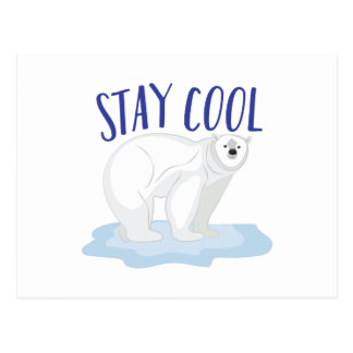 Stay Cool Postcard