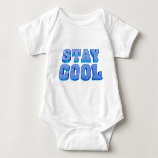 stay coolly ice cube styles font baby bodysuit