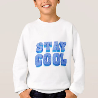 stay coolly ice cube styles font sweatshirt
