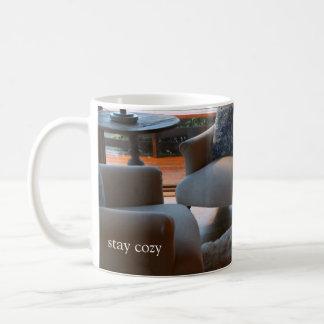 stay cozy coffee mug