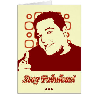Stay Fabulous Card