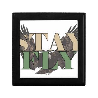 Stay Fly - Bald Eagle - Hunter Green Gift Box