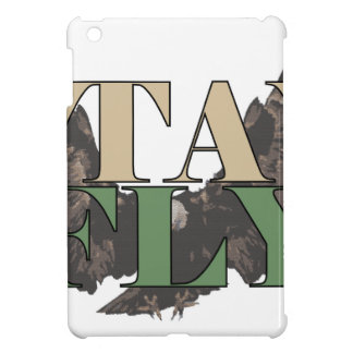 Stay Fly - Bald Eagle - Hunter Green iPad Mini Cases