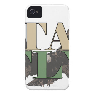Stay Fly - Bald Eagle - Hunter Green iPhone 4 Covers
