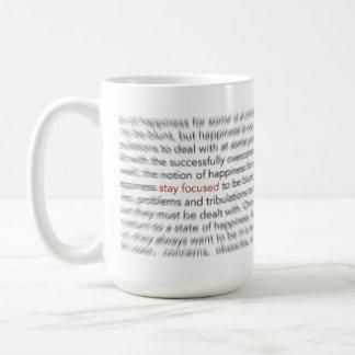 Stay Focused - 8D Living Coffee Mug