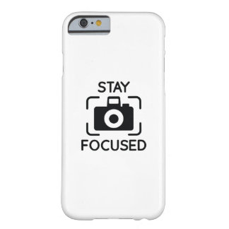 Stay Focused Barely There iPhone 6 Case