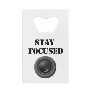 stay focused bottle opener credit card bottle opener