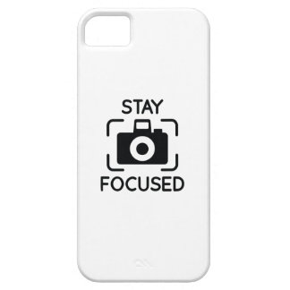 Stay Focused iPhone 5 Covers