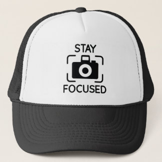 Stay Focused Trucker Hat