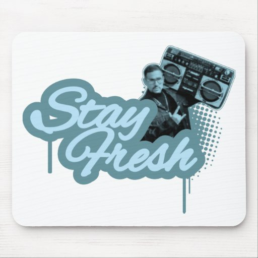 Stay Fresh Mouse Pads