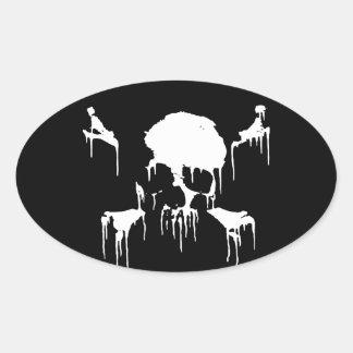 Stay Frosty Oval Sticker