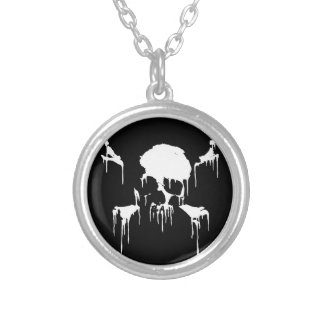 Stay Frosty Silver Plated Necklace