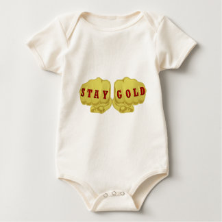Stay Gold Baby Bodysuit