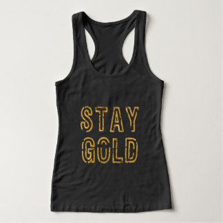 Stay Gold Tank Top