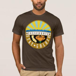 Stay Golden California Color Emblem Shirt