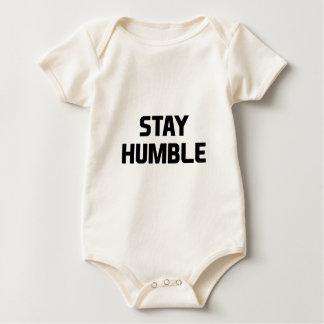 Stay Humble Baby Bodysuit
