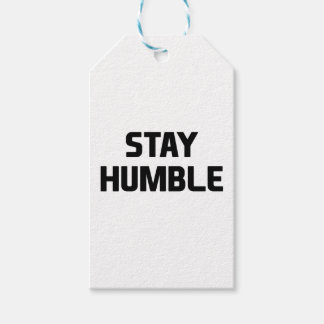Stay Humble Gift Tags
