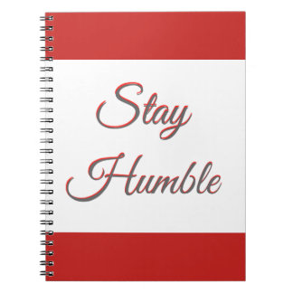 Stay Humble - Notebook