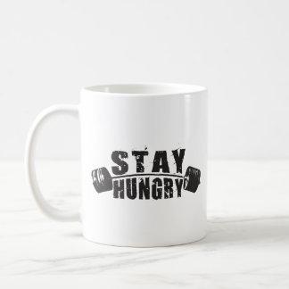 Stay Hungry - Bodybuilding Workout Motivational Coffee Mug