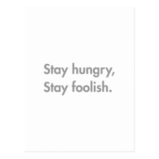 stay-hungry-stay-foolish-fut-gray.png postcard