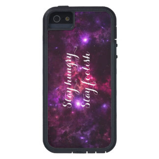 Stay hungry, stay foolish iPhone 5/5S case