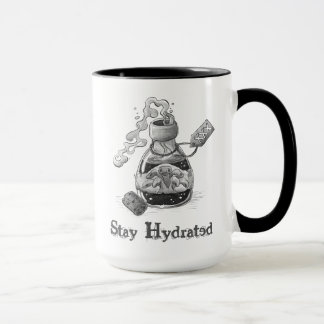 Stay Hydrated - pen and ink illustration Mug