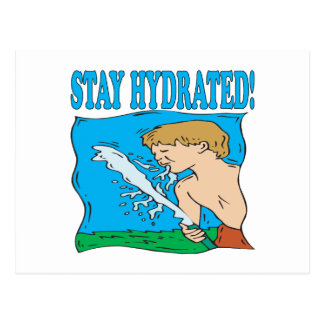 Stay Hydrated Postcard