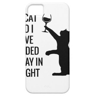 Stay In With Cat Tonight iPhone 5 Case