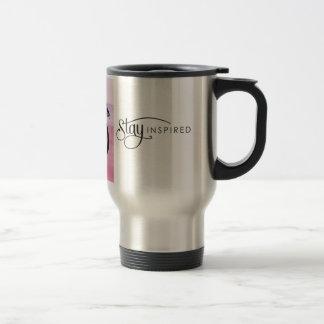 Stay Inspired Black Dragon Travel Mug