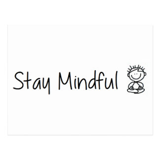 Stay Mindful Postcard