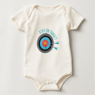 Stay On Target Baby Bodysuit