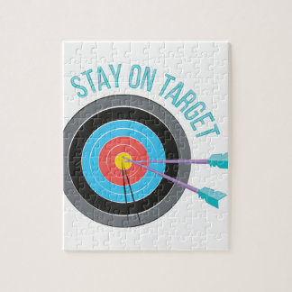 Stay On Target Jigsaw Puzzle