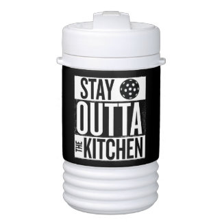 """""""Stay Outta the Kitchen"""" Pickleball Water Jug Cooler"""