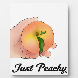 Stay Peachy Plaque