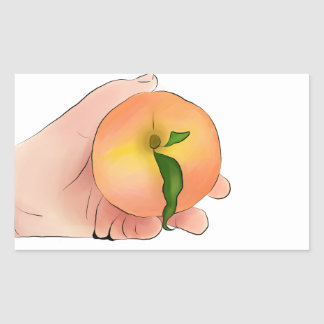 Stay Peachy Sticker