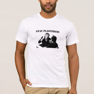 Stay Plastered! William F. Buckley T-Shirt