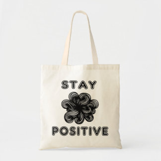 """Stay Positive"" Classic Tote Bag"