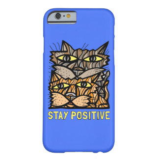 """""""Stay Positive"""" Glossy Phone Case"""
