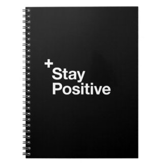 Stay positive - Motivational Spiral Notebook