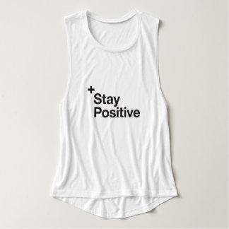 Stay positive - Motivational Tank Top